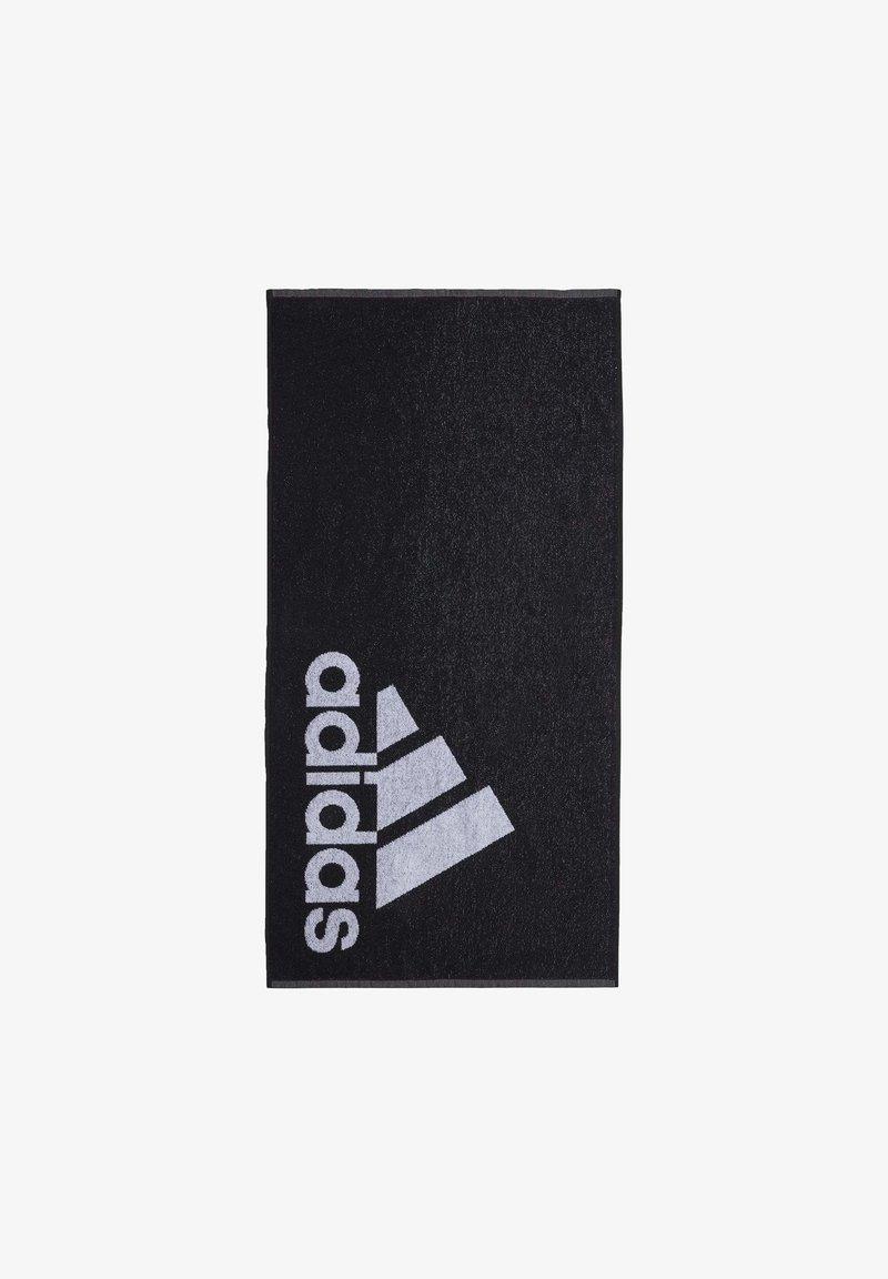adidas Performance - TOWELS & BATHROBES SWIM TOWEL - Strandhåndkle - black