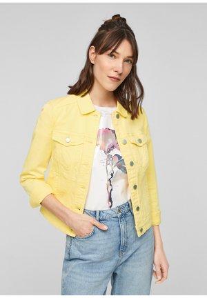 Denim jacket - yellow