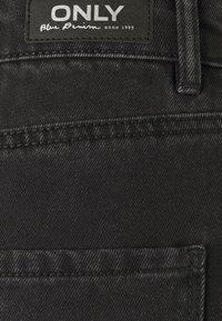 ONLY - ONLVEGA LIFE MOM - Shorts di jeans - black - 2