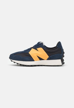 327 UNISEX - Sneaker low - navy/yellow/white