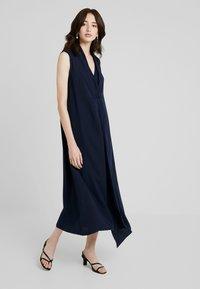 KIOMI TALL - SMART V NECK COLUMN DRESS - Maxi dress - dark blue - 1