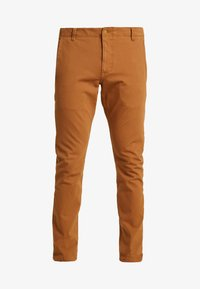 DOCKERS - SMART 360 FLEX ALPHA SKINNY - Chinos - dark ginger - 4