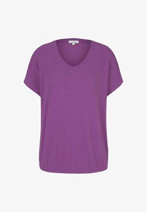STRUKTURIERTES - Print T-shirt - plum blossom lilac