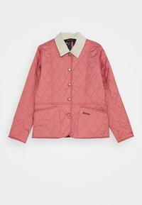 Barbour - GIRLS LIDDESDALE QUILT - Light jacket - vintage rose - 0