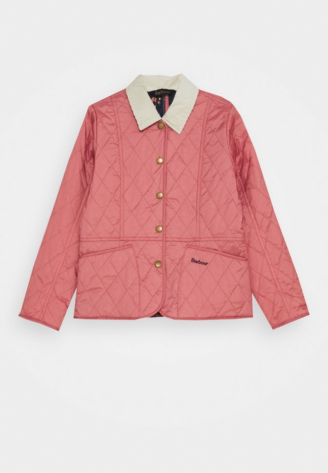 GIRLS LIDDESDALE QUILT - Light jacket - vintage rose