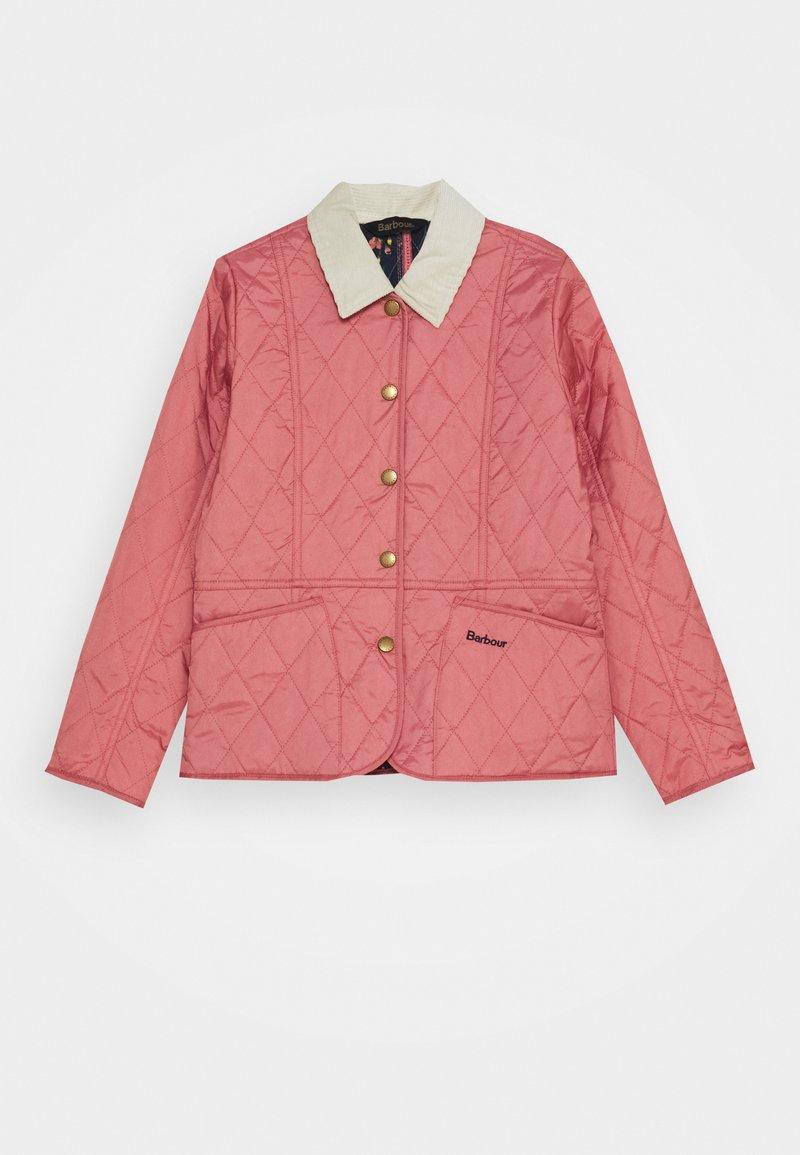 Barbour - GIRLS LIDDESDALE QUILT - Light jacket - vintage rose
