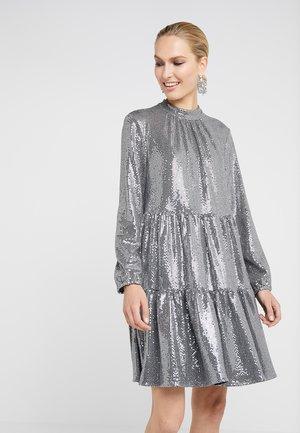 FUNKY GLAM DRESS - Cocktailjurk - funky silver
