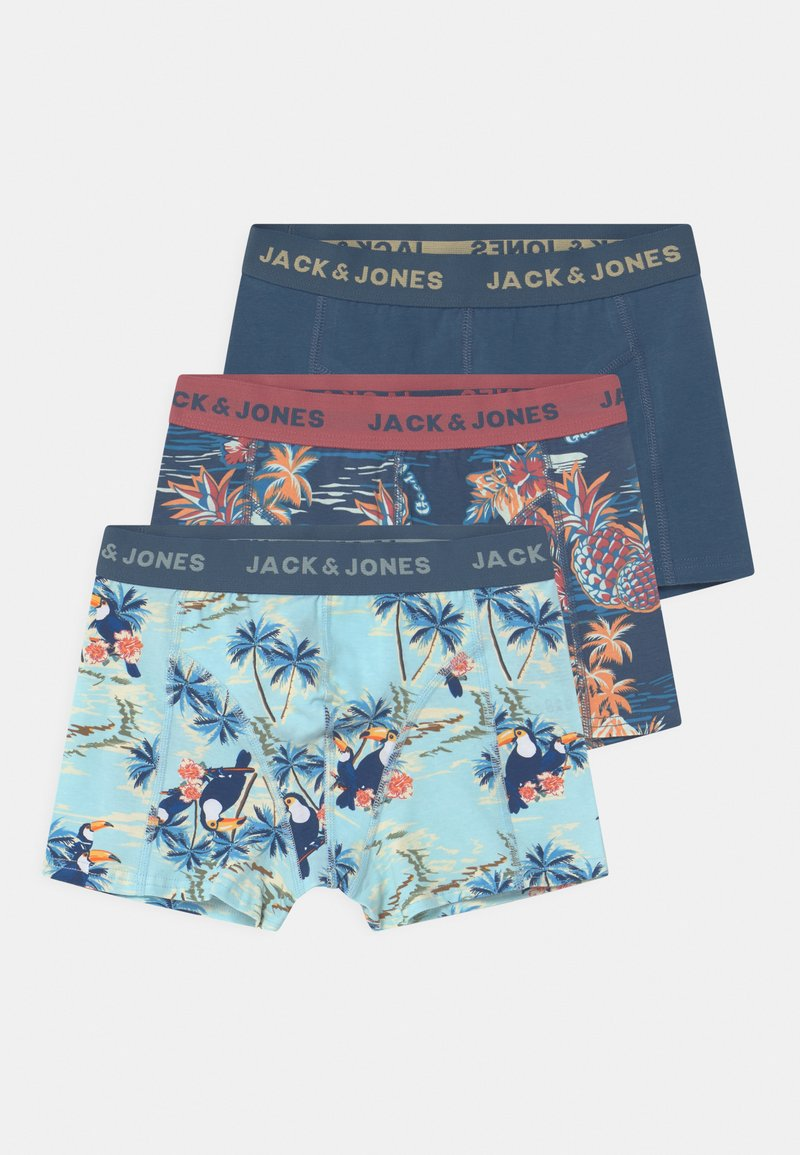 Jack & Jones Junior - JACTROPIC PINEAPPLE  3 PACK  - Pants - dark blue