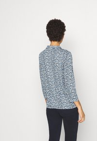 TOM TAILOR - BLOUSE WITH COLLAR - Blouse - navy blue - 2