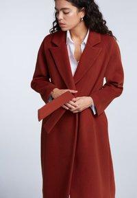 SET - Classic coat - maroon - 4
