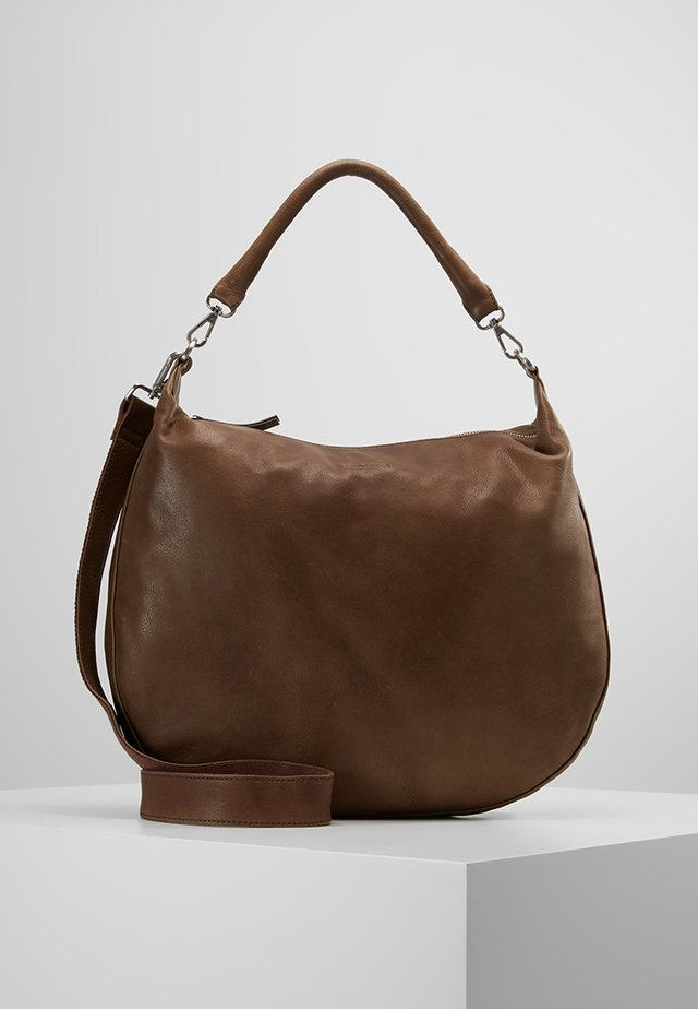 CLEMMY - Håndtasker - dark almond