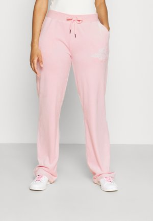 ANNIVERSARY CREST TRACK PANTS - Tracksuit bottoms - almond blossom
