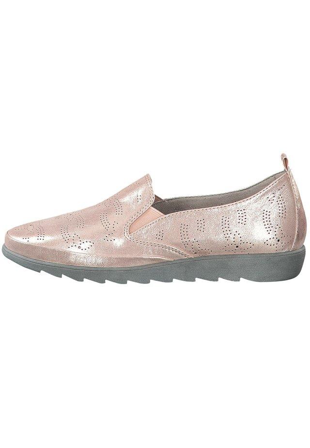 Nazouvací boty - rose/gold
