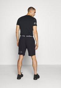 Björn Borg - MEDAL SHORTS - Sports shorts - black/silver - 2