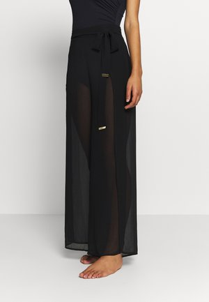 SOLIDS COVER UP PANT - Beach accessory - black