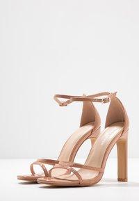 Glamorous Wide Fit - Sandály na vysokém podpatku - nude - 4