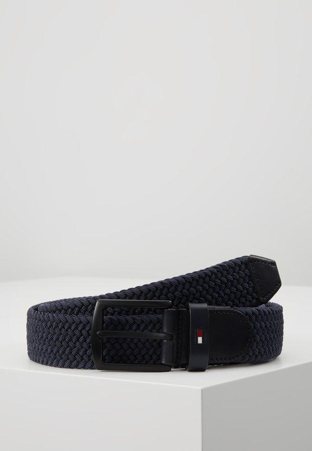DENTON ELASTIC - Pletený pásek - blue