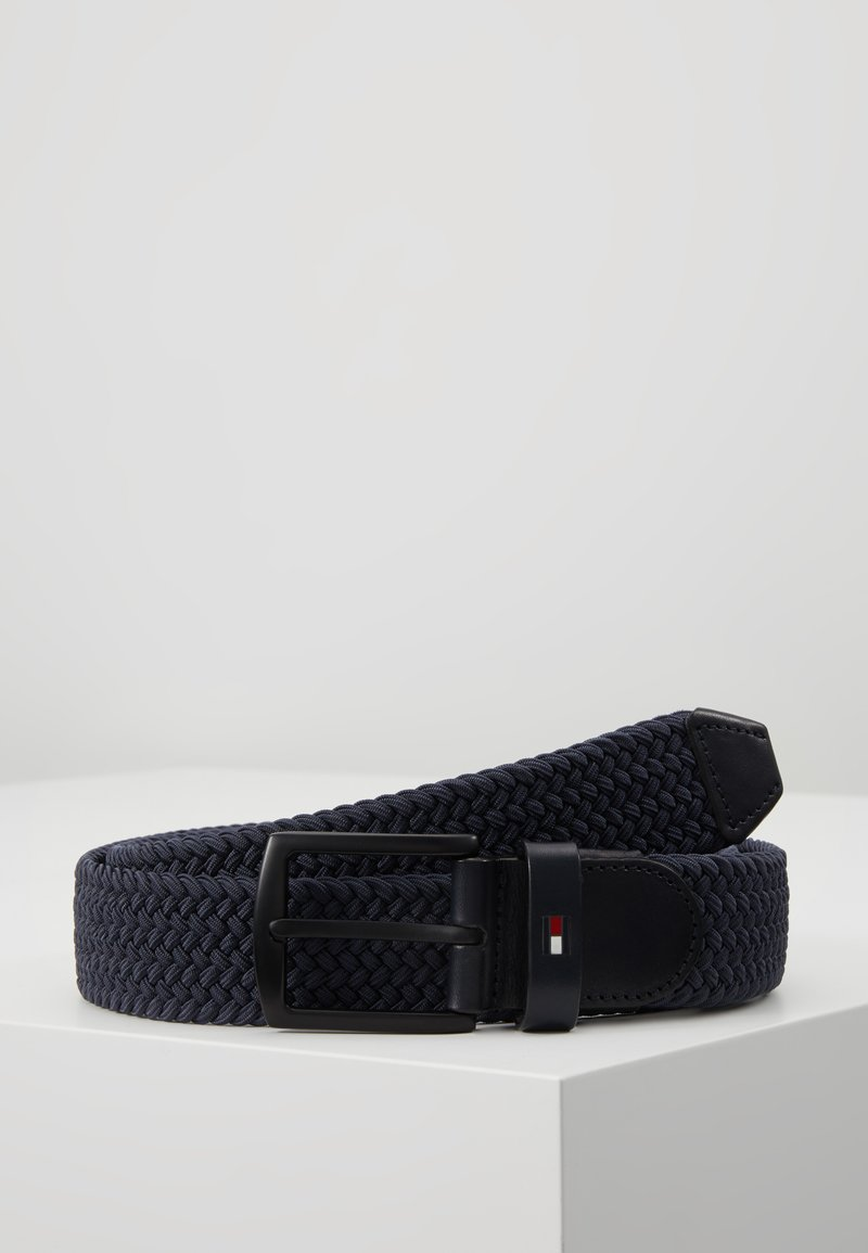Tommy Hilfiger - DENTON ELASTIC - Braided belt - blue