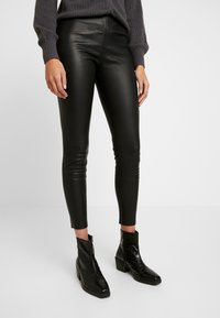 ONLY - ONLLENA - Trousers - black - 0