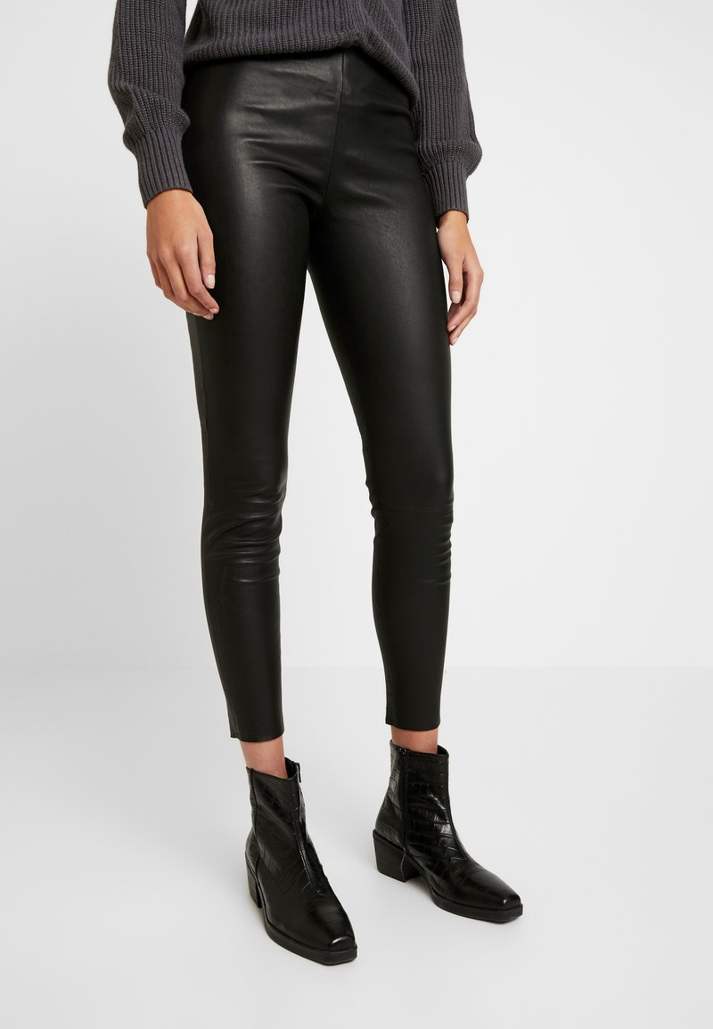 ONLY - ONLLENA - Trousers - black