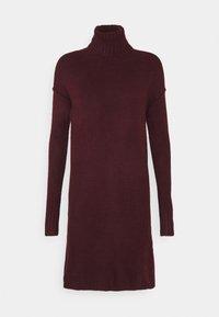Vero Moda - VMLUCI ROLLNECK DRESS - Jumper dress - winetasting - 3