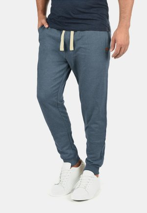 REGULAR FIT - Tracksuit bottoms - blue