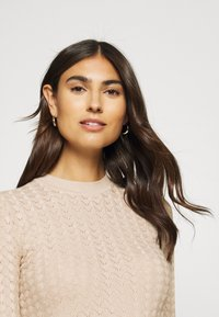 Anna Field - POINTELLE JUMPER - Svetr - light tan melange - 4