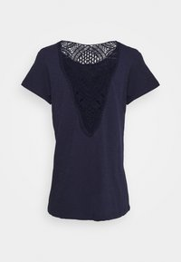s.Oliver - Basic T-shirt - dark steel blue - 1