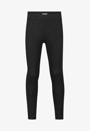 GLITTER - Leggings - Trousers - black