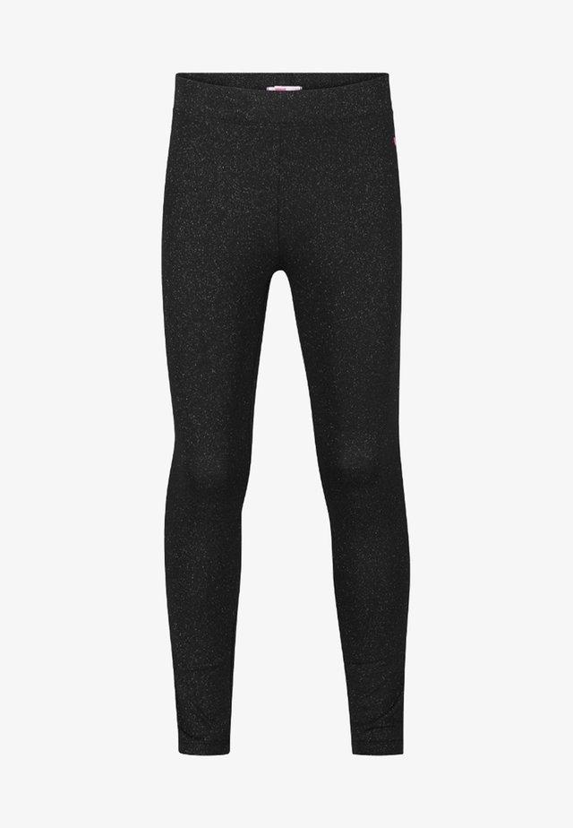 GLITTER - Leggings - black