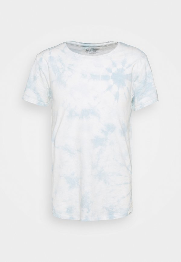 Lee SHAPED TEE - T-shirt basic - skyway blue/niebieski Odzież Męska RPZS