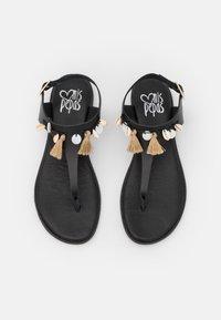 Mis Pepas - T-bar sandals - black - 4