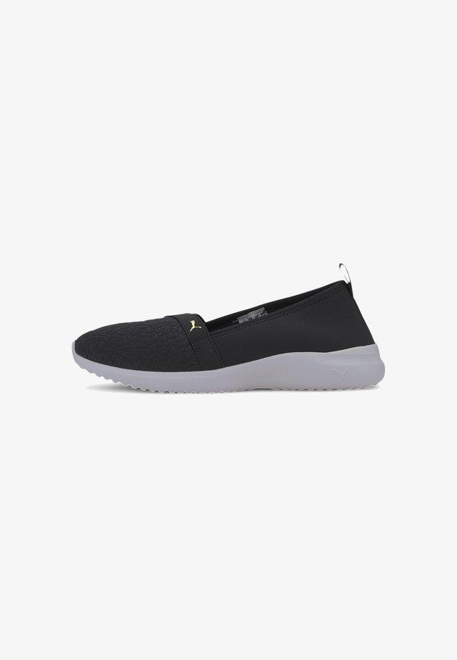 ADELINA  - Sneaker low - black-gold-white