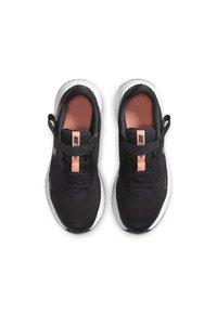 Nike Performance - REVOLUTION 5 FLYEASE - Neutral running shoes - dark smoke grey/atomic pink/metallic red bronze - 1