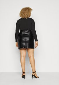 Glamorous Curve - SKIRT - A-line skirt - black - 2