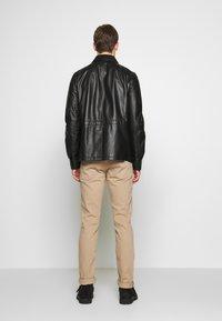 Bally - JACKET - Veste en cuir - black - 2
