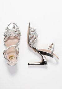 Buffalo - AFTERGLOW - High heeled sandals - silver - 3