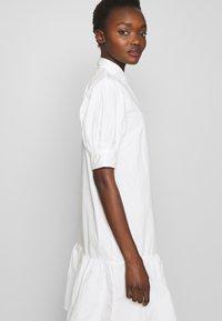 Bruuns Bazaar - FREYIE ALISE SHIRTDRESS - Shirt dress - white - 4