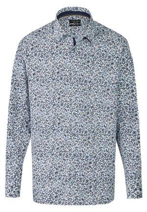 MIT GEBLüMTEM PRINT - Shirt - dunkelblau
