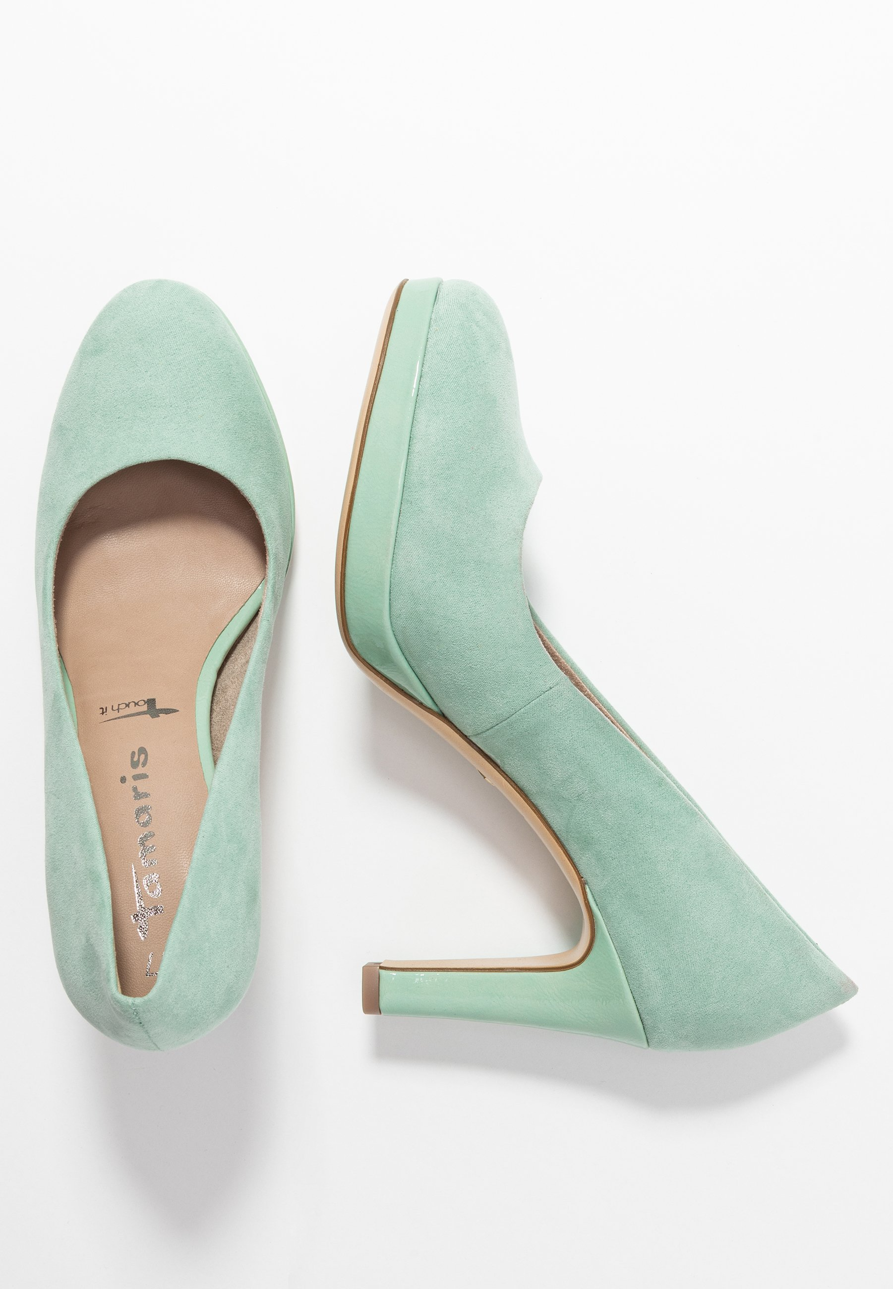 WOMS COURT SHOE Klassiska pumps mint