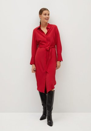 BASIC - Sukienka koszulowa - rot