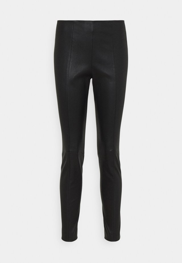 CLASSIC TROUSERS - Leggings - black
