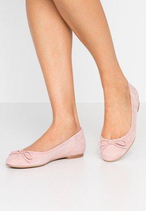 WIDE FIT CARLA - Ballerinaskor - nude