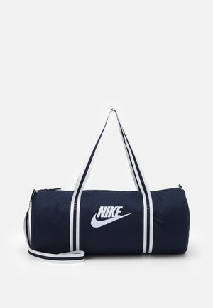 HERITAGE DUFF UNISEX - Sports bag - obsidian/white