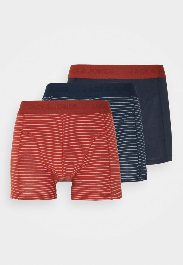JACHAMBORG TRUNKS 3 PACK - Boxerky - total eclipse/red ochr