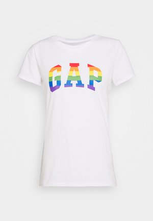 TEE - T-shirts med print - white/multicolor