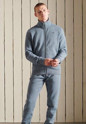 VINTAGE - Zip-up sweatshirt - tois blue grit