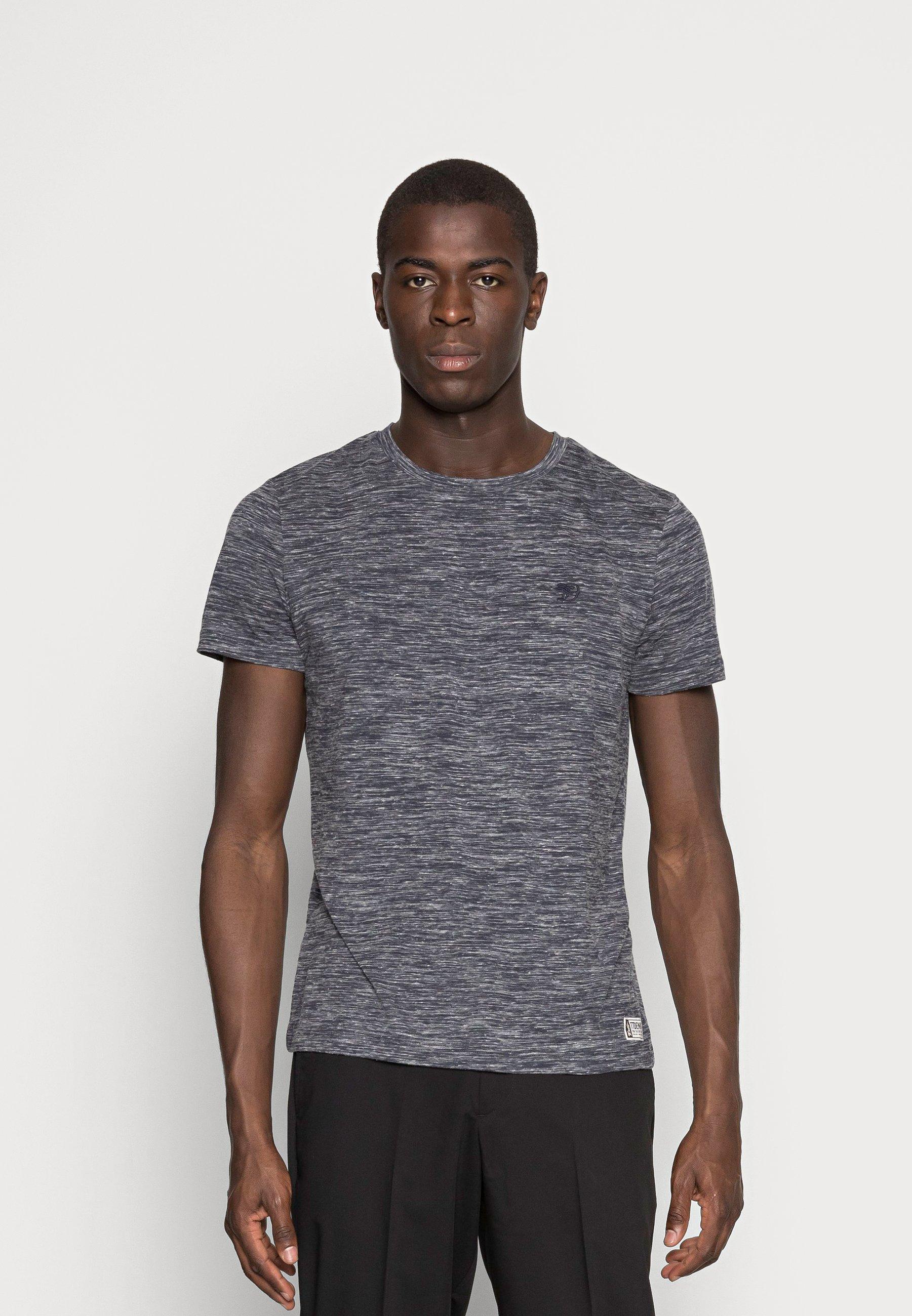 Homme T-shirt basique - space dye blue