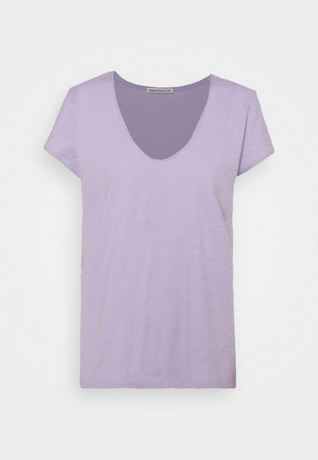 AVIVI - T-shirt basique - lila