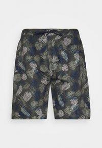 Shine Original - PALM PRINTED - Shorts - army - 0